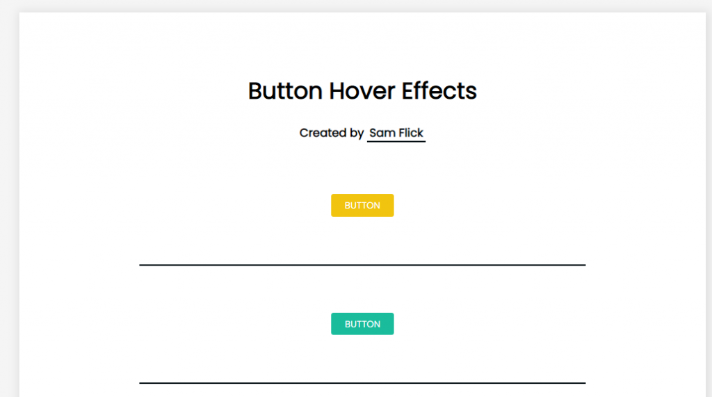 css button hover animation